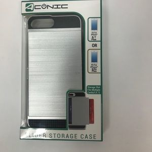 iPhone 7 or 8 Plus case with concealed credit card
